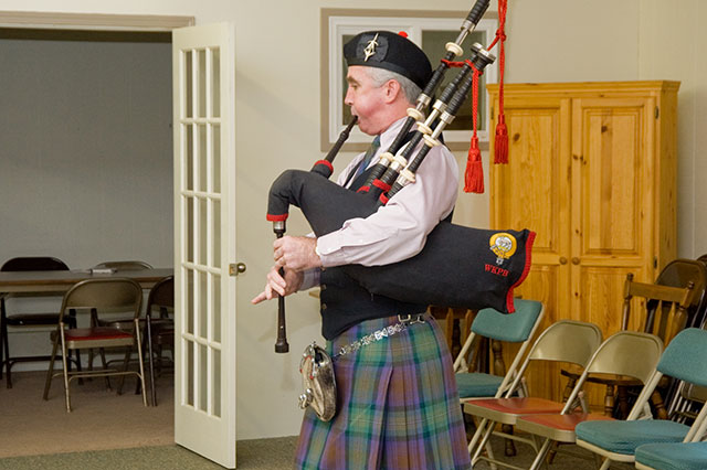 Scottish Bagpipe Presentations, Lessons, Instruction