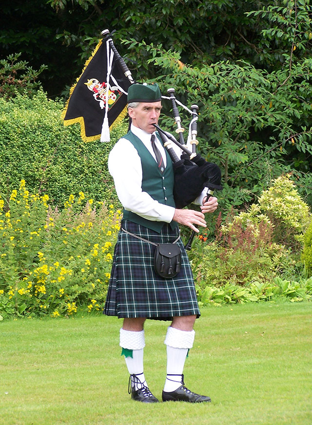 Bagpiper for Vancouver Ceremonial Events