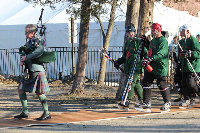 Bagpiper for Vancouver Hockey Events
