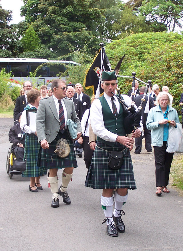 Bagpiper for Vancouver Scottish Clan Events