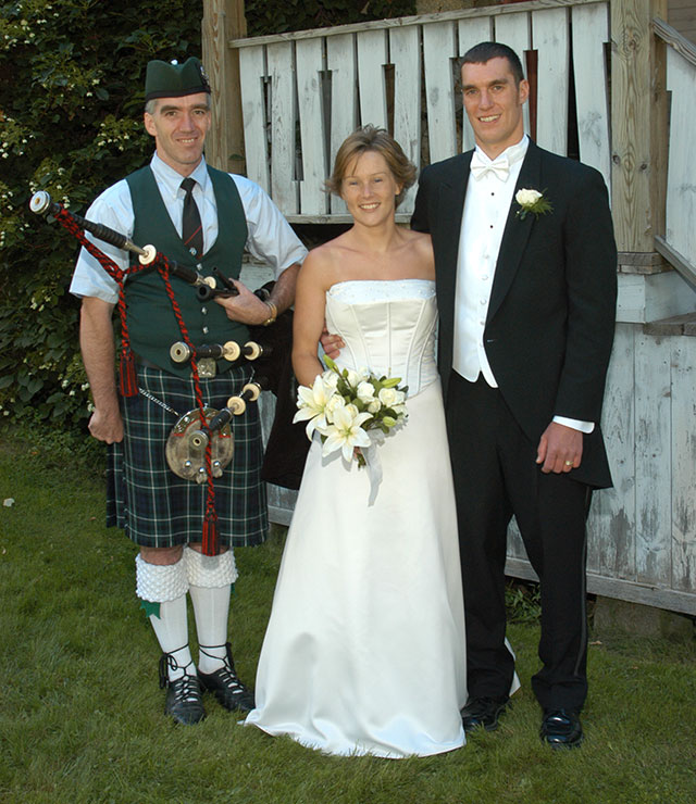 Wedding Reception Bagpipe Music